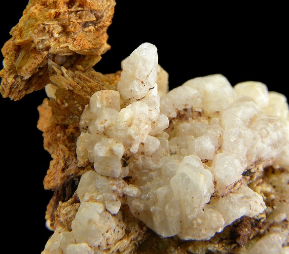 Hopeite (!!) (first known specimens from South America!) with Phosphophyllite / Locality - Huayllani mine, Boliva