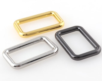 Belt Buckle D ring Alloy Metal Square buckle Gold Silver gun black 30mm for Shoes Bags Garment Buckles DIY Accessory Sewing