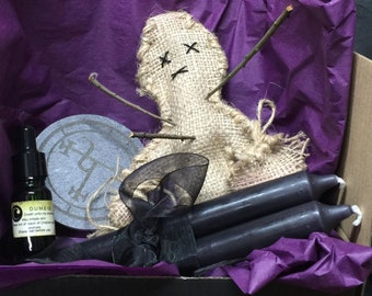 Dark Witch Poppet Kit | Occult | Witch | Pagan | Voodoo | Wicca