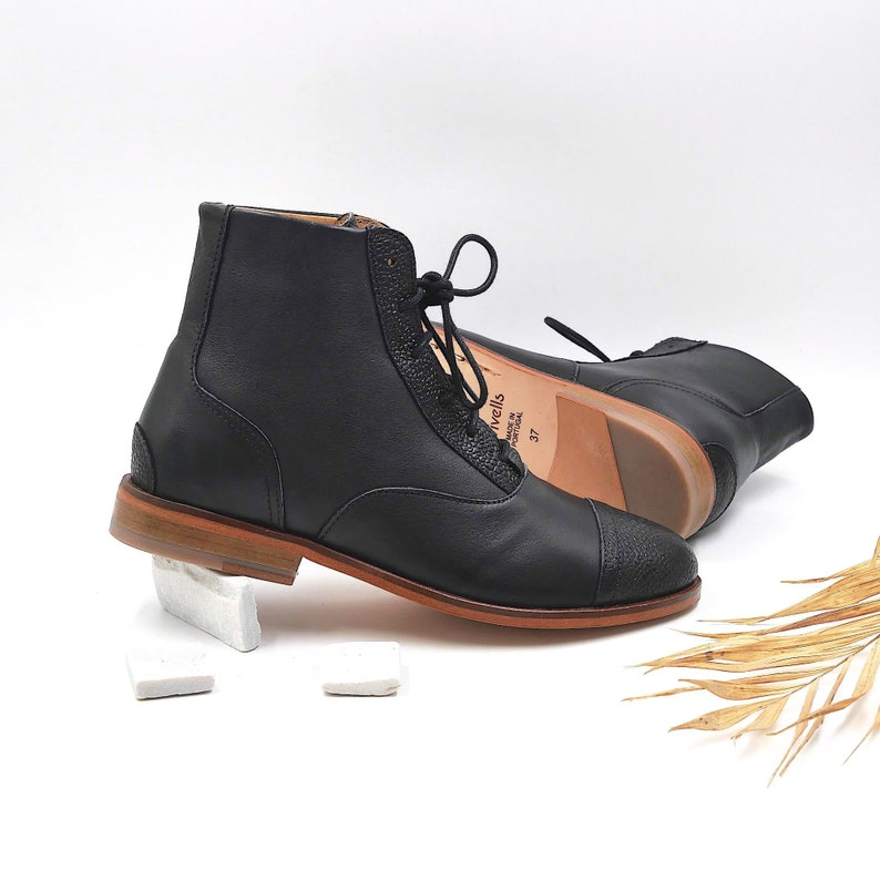Steampunk Boots & Shoes, Heels & Flats Women Swing Dance Shoes in Black Swivels $226.75 AT vintagedancer.com