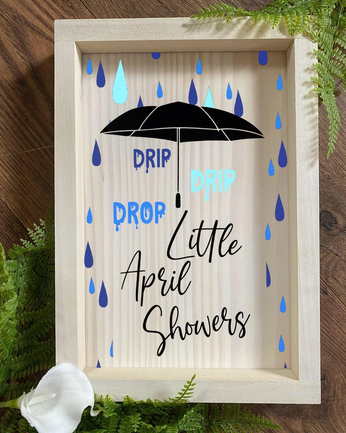 April Showers Lyrics Spring Disney Castle Farmhouse Rustic