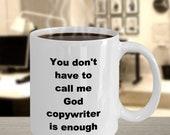 Copywriter mug