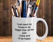 House yarn mug