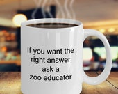 Zoo educator mug