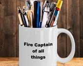 Fire captain mug