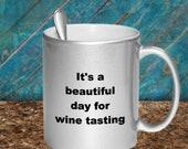 Wine tasting mug
