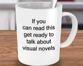 Visual novels mug