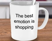 Emotion shopping mug