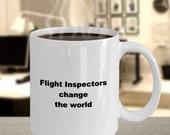 Flight inspectors mug