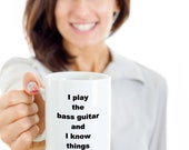 Gift mug guitar funny novelty humorous birthday cup gift ideas for men and women