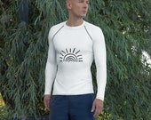 Men's Rash Guard with Sun