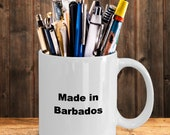Made in barbados mug