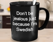 Swedish mug novelty gifts friends present xmas