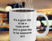 Route driver mug