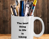 Hiking - best thing mug
