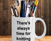 Knitting time mug