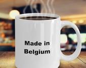 Made in belgium mug