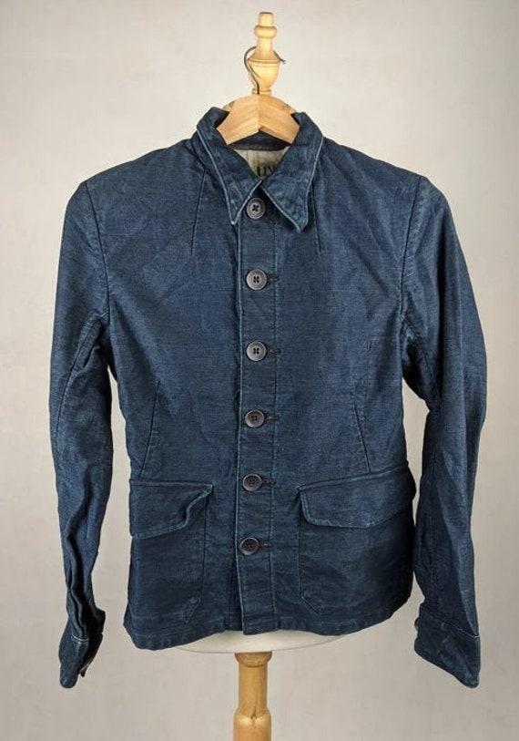 45 RPM Jacket Denime Jeans Workwear Style Japanese