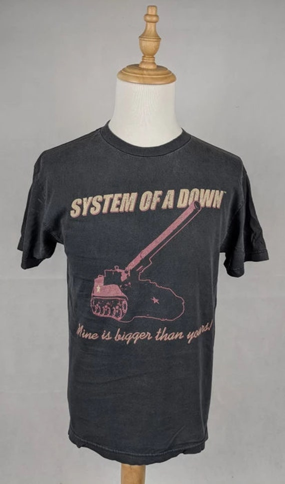 System Of a Down Mine is bigger than yours shirt S