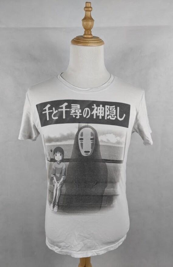 Vintage Spirited Away Ghibli Anime shirt Size: US