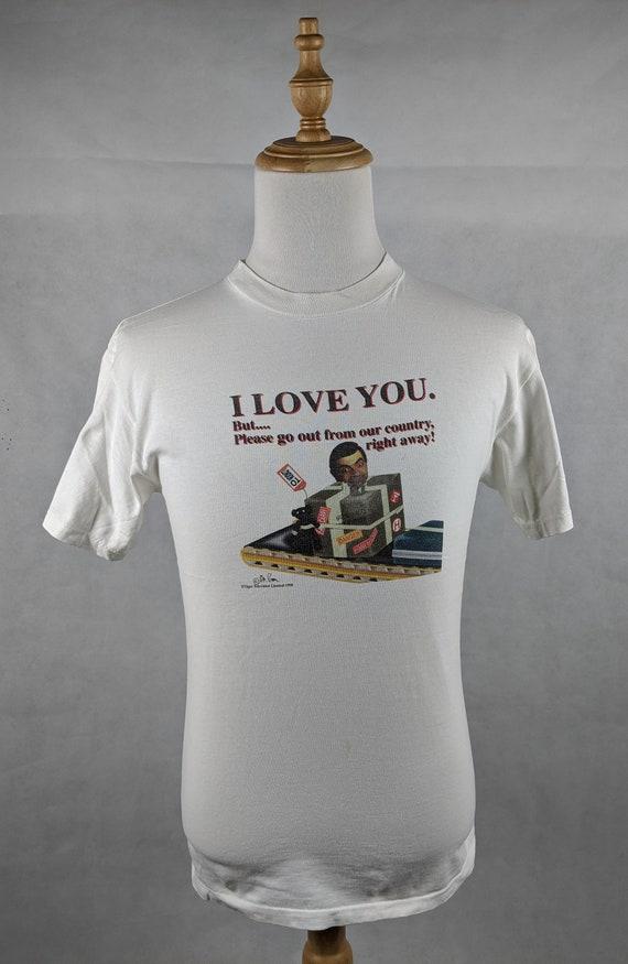 Vintage 90s 1998 Mr.Bean Comedy Cult Shirt Size: U