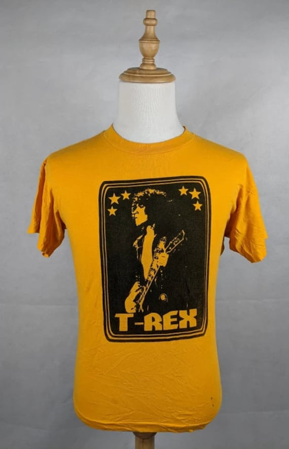 Vintage T Rex Band Glam Rock Marc Bolan Shirt Size