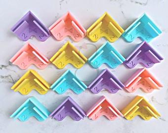 Etsy Binding tools/ Bookbinding kit/ Chipboard/ Cartonnage/ Cutter Guide/ Easy Scrapbooking tool/ Herramienta para Cartonaje/  3d printed