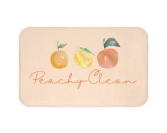 Peach Bath Rug Etsy