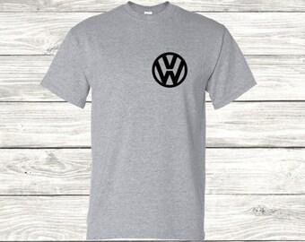 Wolkswagen T-Shirt, vw, car, cars, gti, golf, mk1, mk2, mk3, mk4, mk5, mk6, mk7, for him, for her, vw t-shirt