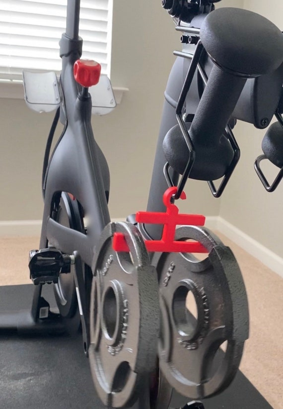 1 RED shoe hangers for Peloton cycling shoesPeloton accessory