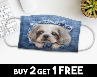 Baggage Covers Various Dogs Head Pattern Paint Washable Protective Case