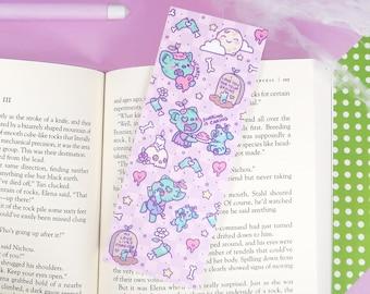 Pigleaf Zombie Bookmark ⋰ Cute Pig Kawaii ⋰ Bookmark ⋰ Halloween Bookmark ⋰ Kawaii ⋰  Bookworm ⋰ Read