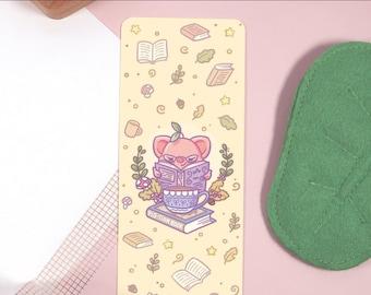 Pigleaf Pig-tion BOOKMARK ⋰ Cute Pig Kawaii ⋰ Bookmark ⋰ Silly Faces ⋰ Kawaii Bookmark ⋰ Adorable Bookmark ⋰ Pig Bookmark  ⋰ Cute Stationery
