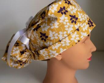New Orleans Jambalaya Theme Scrub Hat