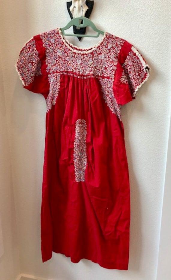 Vintage Red San Antonio Oaxacan Mexican Wedding Dr