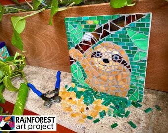Sloth DIY Mosaic Kit