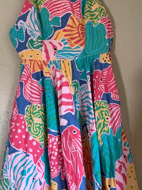 Vintage 1980s Merona Beach Dress - image 6