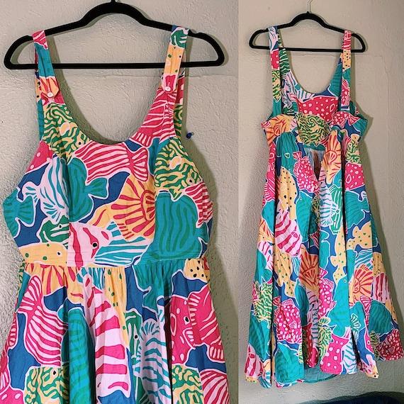 Vintage 1980s Merona Beach Dress - image 3