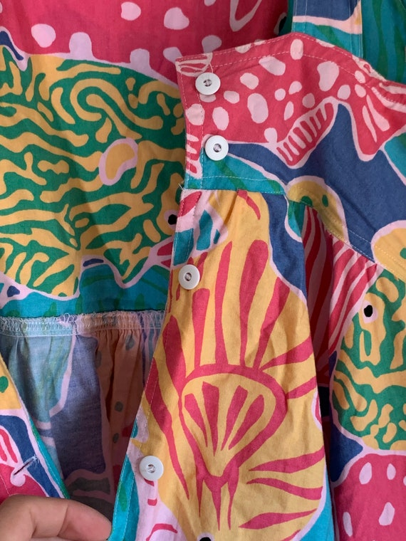 Vintage 1980s Merona Beach Dress - image 10