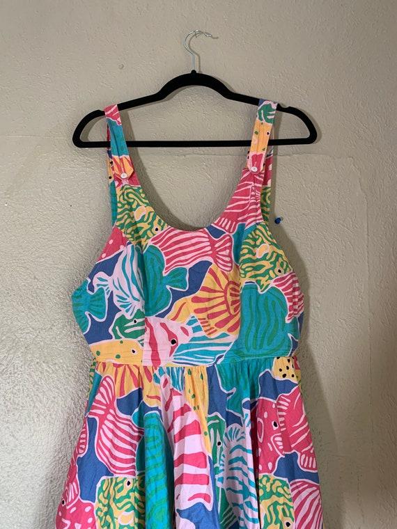 Vintage 1980s Merona Beach Dress - image 8