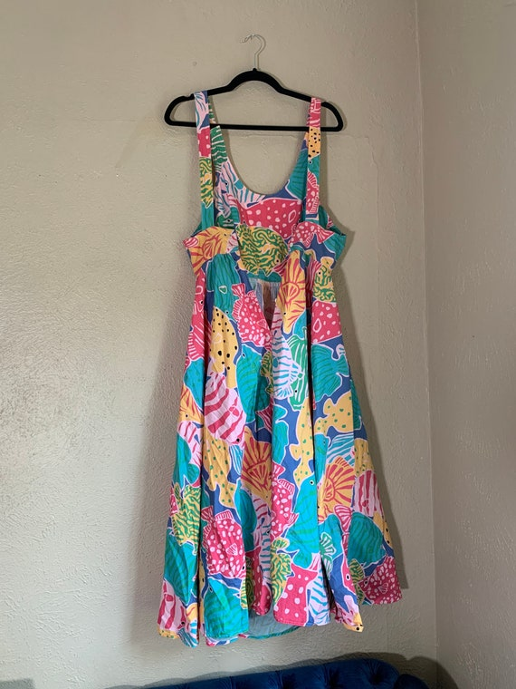 Vintage 1980s Merona Beach Dress - image 4