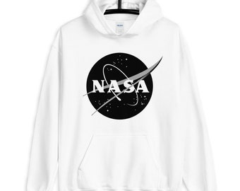 top Nasa edition sweatshirt IMMA NEED SPACE Cropped Hoodie Made by LuckyGirlsShop. Hoodie