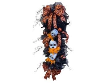 Zombie Baby Halloween Swag, Creepy Halloween Wreath, Zombie Baby Halloween Wreath, Zombie Decor, Walking Dead Wreath