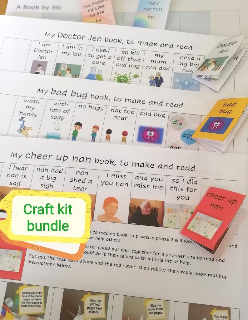 Kids' Book Kit Bundle  3 Tiny Phonic Reading Books  Mini image 1