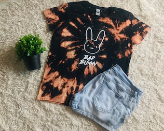 Bad Bunny Reverse Dye T-Shirt