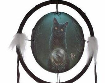 Lisa Parker Cat 16cm Dreamcatcher.