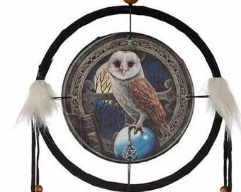 Lisa Parker Barn Owl Dreamcatcher 16 cm Diameter Dream Catcher