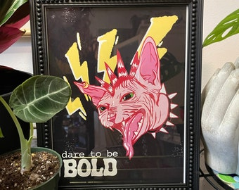 Dare to be BOLD print
