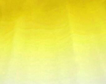 Fabric By The Yard Lemon Yellow Textured Chiffon