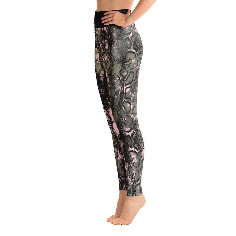 Running tights Reptile Yoga Leggings yoga pants
